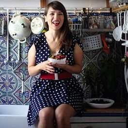 "Rachel Khoo knows all about living and cooking in a small Parisian apartment check this article out about her ""Kitchen Style""."