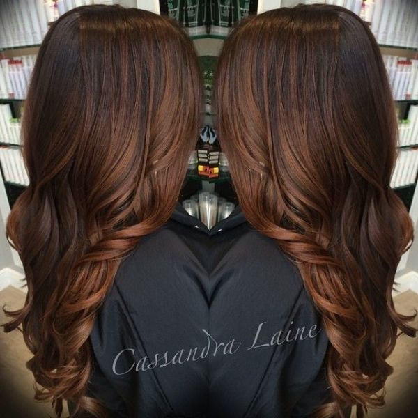 Rich copper or warm cocoa brown color hair trendy hairstyles in rich copper or warm cocoa brown color hair pmusecretfo Image collections