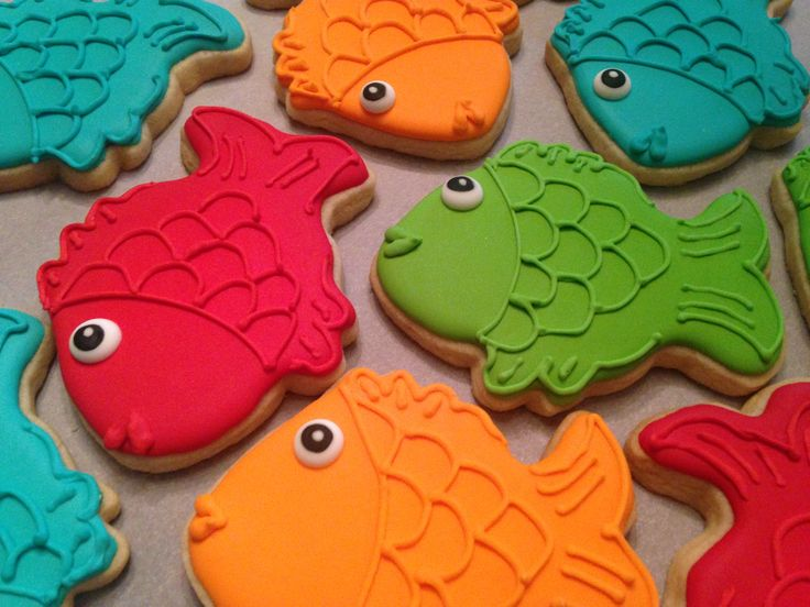 Fish sugar cookies! by eam