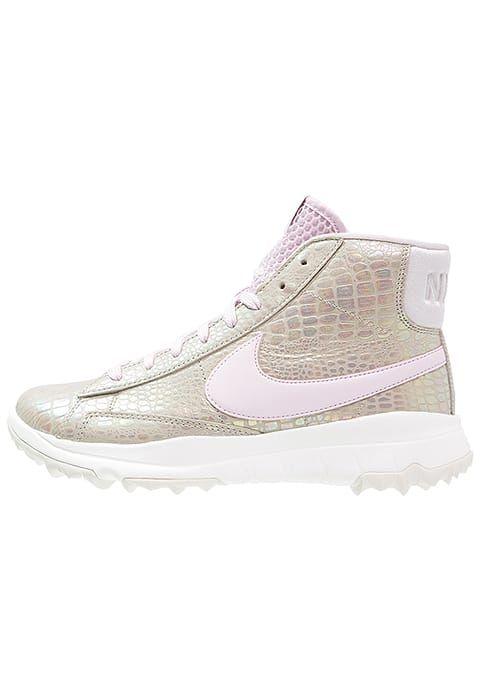 Nike Golf BLAZER - Chaussures de golf - lite iron ore/bleached lilac/summit white - ZALANDO.FR