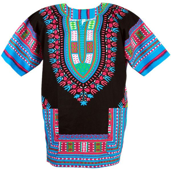African Dashiki Mexican Poncho Hippie Tribal Ethic Boho Shirt Black... ($14,950) ❤ liked on Polyvore featuring outerwear, tribal poncho and hippie ponc