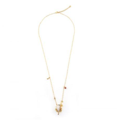 Sparrow Long Pendant (Gold)