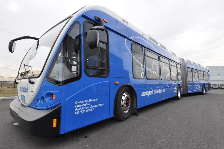 Shuttle Bus at Logan Airport