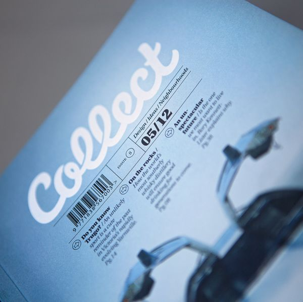 Collect Magazine by Adam Johnson, via Behance