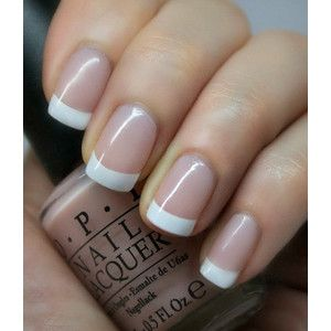 OPI Perfect Pink & White French manicure ~ OPI Bubble Bath, OPI Alpine Snow With Easy To Follow Instructions