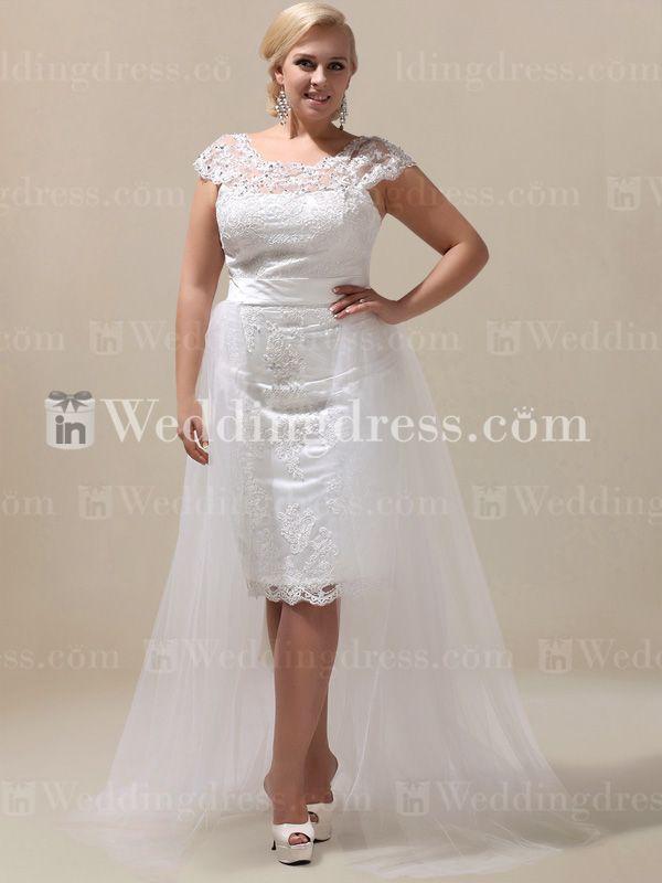 Shop plus wedding dress for under $300; explore our huge budget-friendly plus size wedding dress collection now!