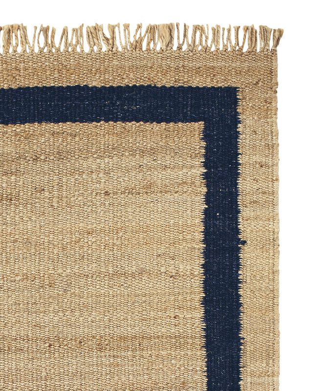 Jute Border Rug - Rugs & Dhurries | Serena and Lily