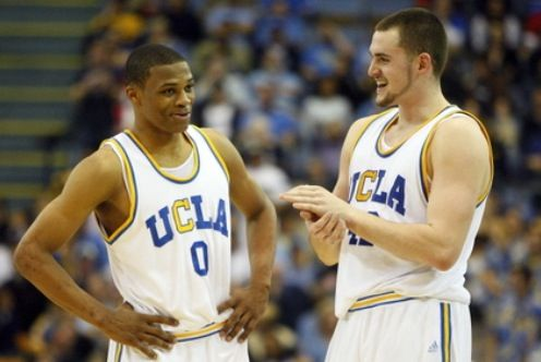 Russell Westbrook and K Love back when they were just ... Russell Westbrook College