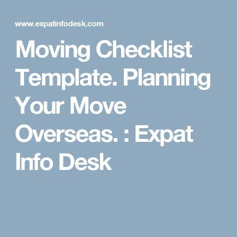As 25 melhores ideias de Moving checklist no Pinterest Sugestões - moving checklist template
