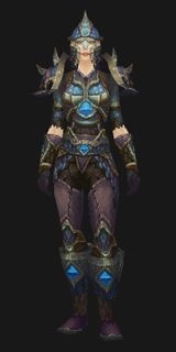 Stilled Heart Mail - Transmog Set - World of Warcraft