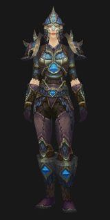 Stilled Heart Mail - Transmog Set - World of Warcraft
