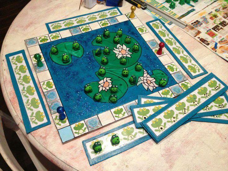 jeu grenouilles de facebook Kikker, Spelborden, Thema