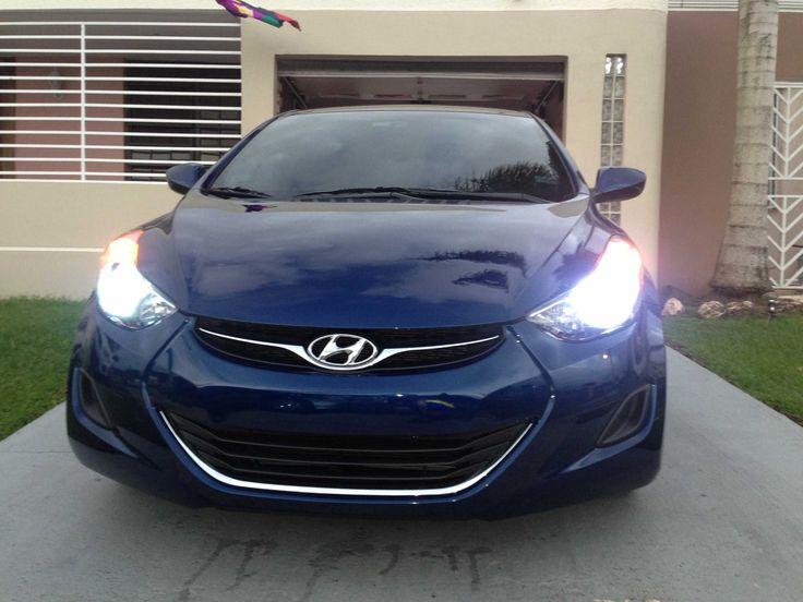 Hyundai Elantra 2012 H.I.D KIT Blue and Phresh