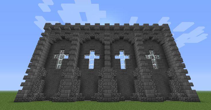 Minecraft Decoration Build Mur