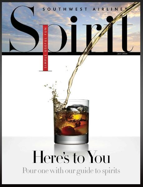 Southwest Airlines Spirit Magazine Interactive
