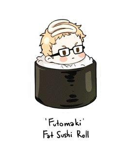 Sushi Haikyuu!! (Anime, Deportes, Shonen, Volleyball)