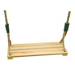 Accessoires portiques enfants - balançoire bois 2m - 2m50