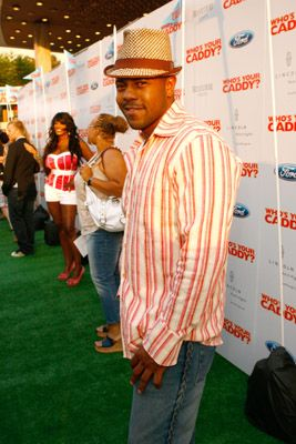 Rockmond Dunbar at an event for Who's Your Caddy? (2007)