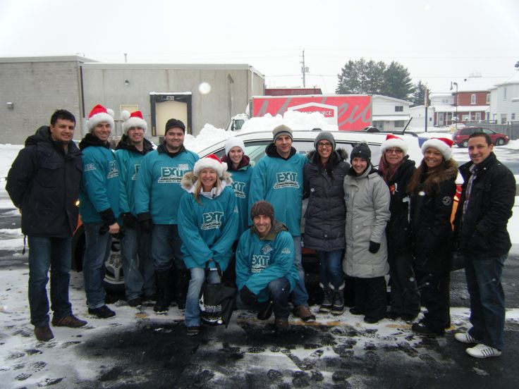 #tessierteam and many volunteers drove around Embrun on December 1st collecting for the Food Bank. It was a great success!
