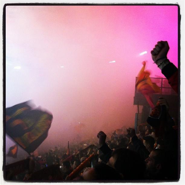 Curva Sud Roma - AS Roma vs. Lazio http://asr1927news.blogspot.it/