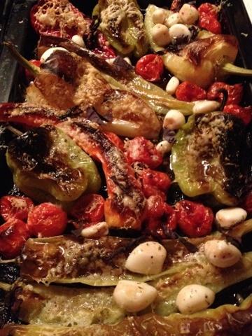Foto: Tyra Hallsénius Lindhe - Ungsgratinerade grönsaker med parmesan