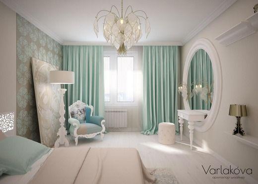 Спальня для молодой девушки. Спальня