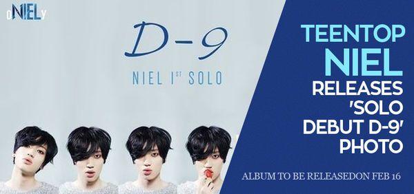 TEENTOP Niel Releases 'Solo Debut D-9' Photo