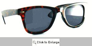 Johnny's Reader Sunglasses - 460SR Tortoise