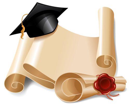 graduation scroll clip art free - photo #42