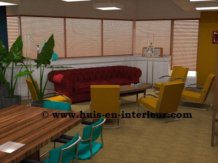 """Winning interior design  meeting space """"The Loft"""" Seats2Meet Utrecht"""