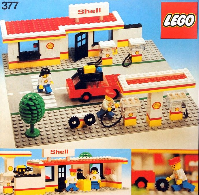 Lego 377-1 Shell Service Station