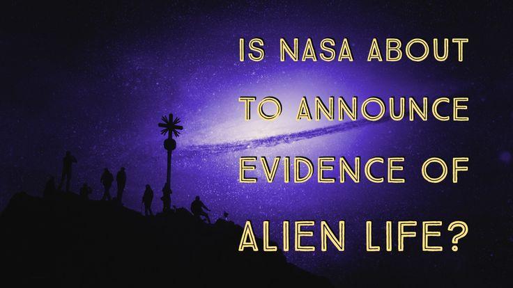 """Is it True NASA is About to Announce """"Evidence of Alien Life""""?... http://www.believe.love/1639/is-it-true-nasa-is-about-to-announce-evidence-of-alien-life/"""