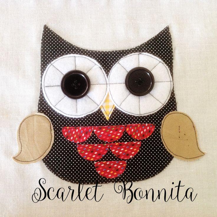 Owlie Applique