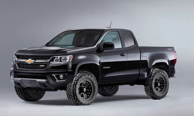 Chevy Colorado Lifted 2015