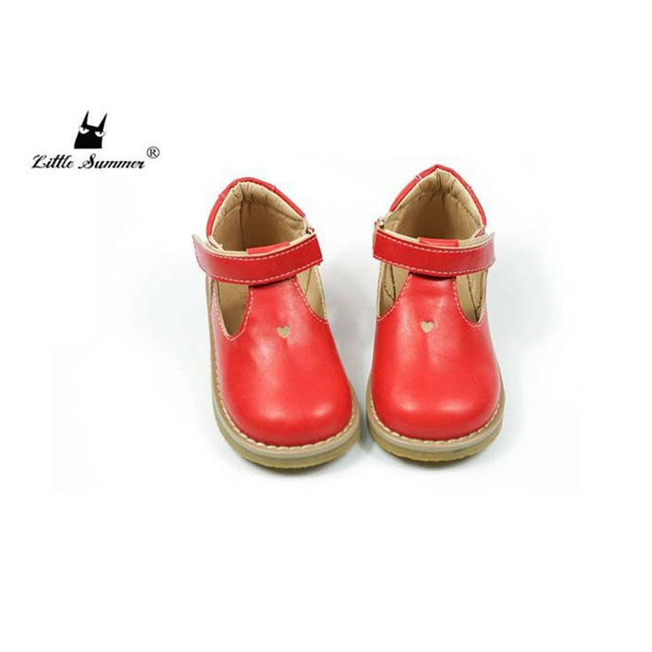 Children casual shoes Leather Girls shoes Hollow Non-slip Kids Flat shoes Heart-shaped Princess shoes 13.5-17.5cm #Affiliate