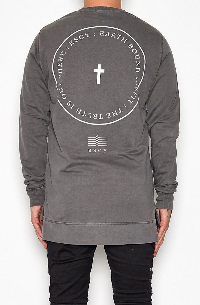 KSCY - Misfit Long Back Sweatshirt