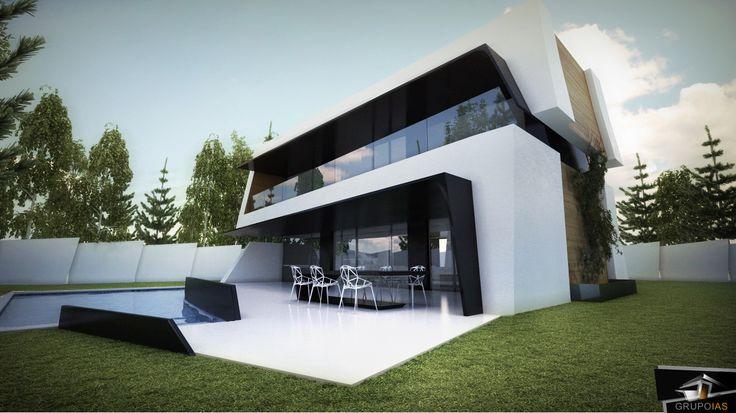 Diseño vivienda unifamiliar  http://grupoias.es/blog/diseno-de-viviendas/construccion-vivienda-madrid/