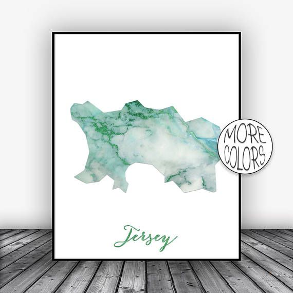Jersey Print, Watercolor Print, Jersey Map Art, Map Painting, Map Artwork, Country Art, Office Decor, Country Map ArtPrintsZoe #CountryMapArt #MapArtPrint #OfficeDecor #ArtPrintsZoe #ArtPrint #CountryMap #MapPainting #CountryArt #Jersey #WatercolorPrint
