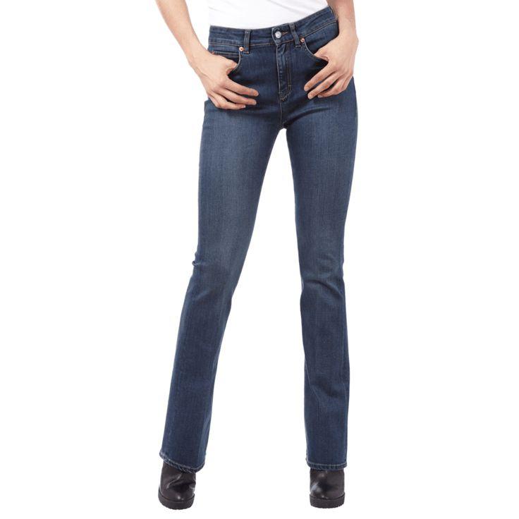   #Drykorn #Damen #Stone #Washed #Jeans im #Flared #Cut