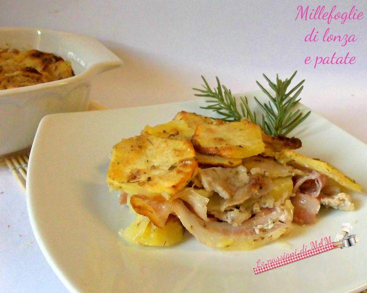 Millefoglie di lonza e patate