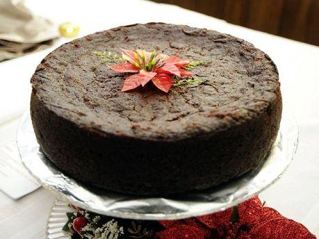 Jamaican Christmas Fruit Cake | Simply Marvia