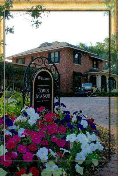 town manor bed and breakfast wedding ceremony reception venue auburndale florida