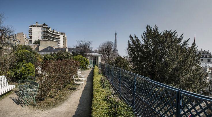 Maison de Balzac : 7 rue Raynouard 75016 Paris Transports Métro Passy (ligne 6) / La Muette (ligne 9), RER C stations Boulainvilliers ou Radio France, Bus n°32, 50, 70, 72   ©François Grunberg / Mairie de Paris