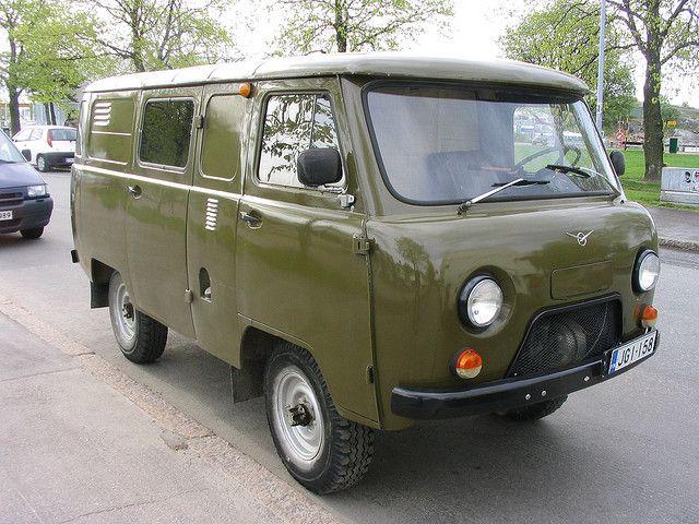 UAZ by edsel, via Flickr ↦ UAZ forever! Damn beautiful van.