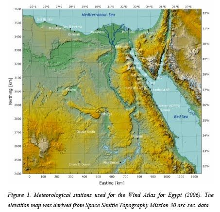 Best Egypt Images On Pinterest Egypt School Projects And - Map of egypt elevation