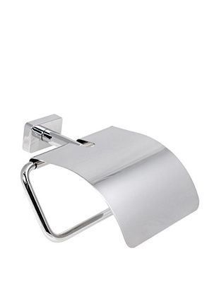 61% OFF Gedy by Nameek's Minnesota Collection Wall-Mountable Toilet Paper Holder with Cover, Polished Chrome