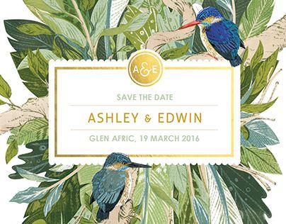 다음 @Behance 프로젝트 확인: \u201cWedding Stationery | Ashley & Edwin\u201d https://www.behance.net/gallery/28683281/Wedding-Stationery-Ashley-Edwin