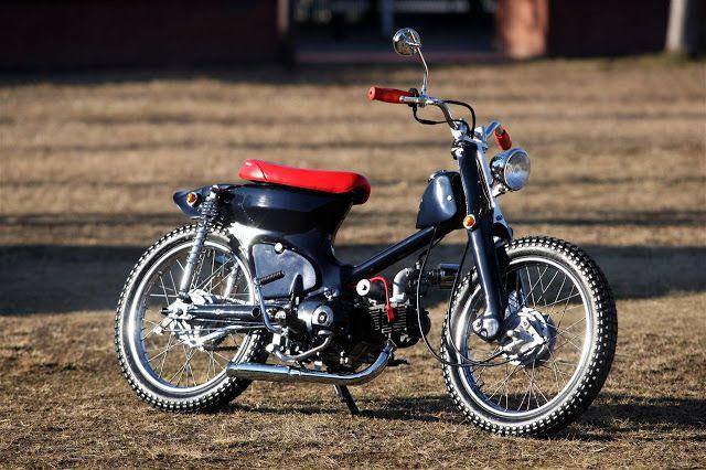 "CONE CUSTOM CYCLES # Honda Super Cub ""Fermion"""