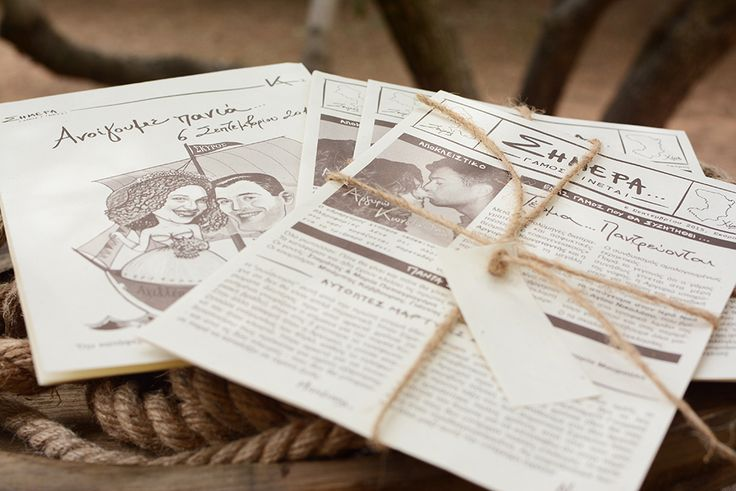 Handwritten Invitations - Destination Wedding - Chirography
