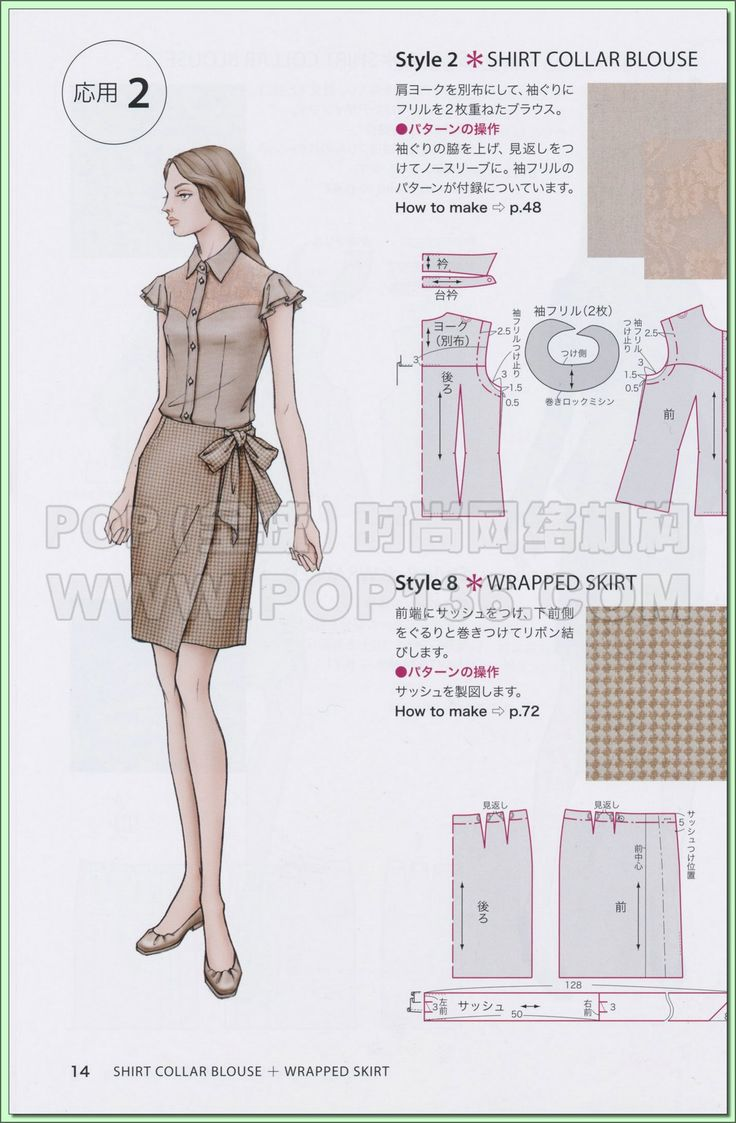 25+ best Wrap skirt patterns ideas on Pinterest | Simple skirt ...